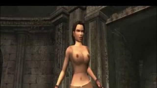 Nude lara mod croft TRA nude